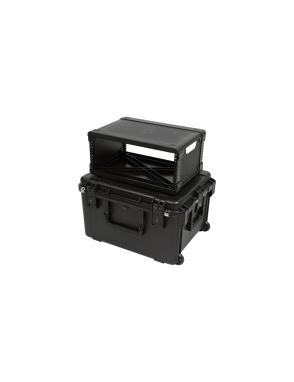 SKB® Case Fly Rack 3i-2217-M124 Rack 4U Con Ruedas