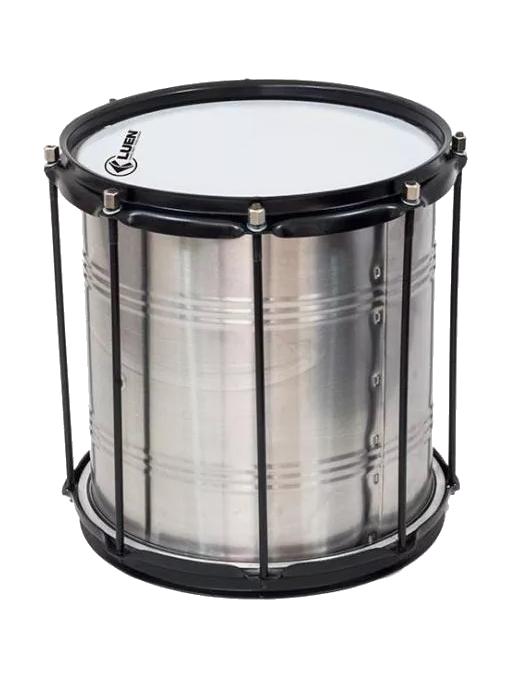 "Luen® Repinique 30 cm x 10"" 8 Afinadores Aluminio"