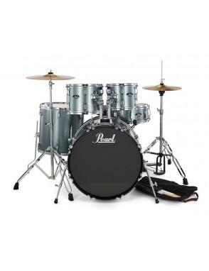 Pearl® Batería Acústica Roadshow RS525SC Fusion Color: 706 Charcoal Metallic