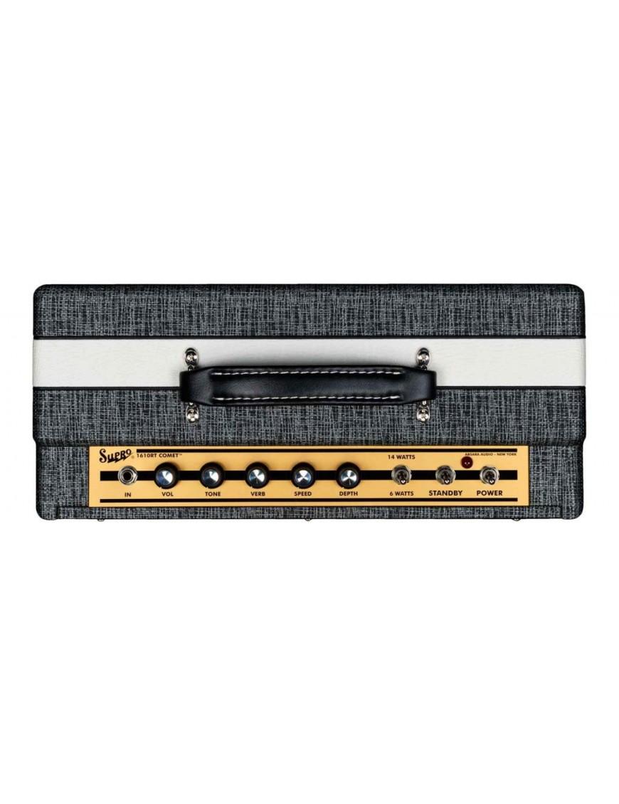 Supro® Amplificador Guitarra Combo 1610RT Comet 14 Watt Tubo