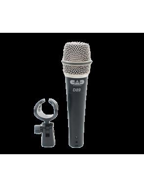 CAD AUDIO® Micrófono Instrumento D89 Supercardioide