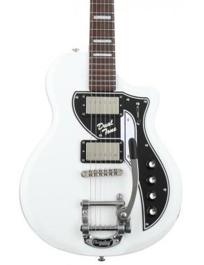Supro® Guitarra Eléctrica 1224 David Bowie Edición Limitada Dual Tone Con Case