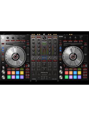 Pioneer DJ® Contolador DJ DDJ-SX3 4 canales Serato