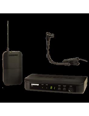 Shure® Sistema Inalámbrico instrumento con micrófono de pinza BLX14/B98