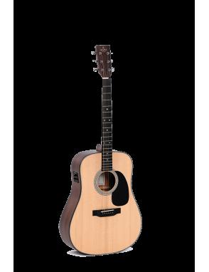 Sigma® Guitarra Electroacústica Dreadnought SDM-STE Funda