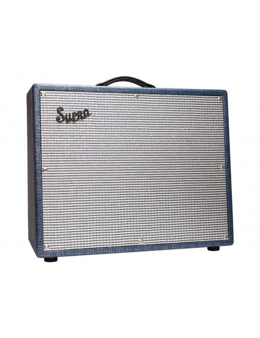 Supro® Amplificador Guitarra Combo S6420+ Thunderbolt Plus 35/45/60 Watt  1x15 Tubo