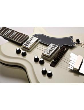 Supro® Guitarra Eléctrica 1593EW Martineque D