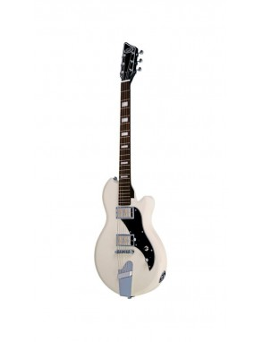 Supro® Guitarra Eléctrica 2020TM Westbury Artic White