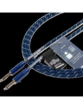 "Santo Angelo® Cable Instrumentos Haramaki Plug ¼"" Recto A Plug ¼"" Recto OFHC Largo: 3.10 mts"