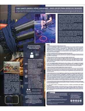 "Santo Angelo® Cable Instrumentos Haramaki Plug ¼"" Recto a Plug ¼"" Recto OFHC Largo: 4.57 mts AMNI® VIRUS-BAC OFF"