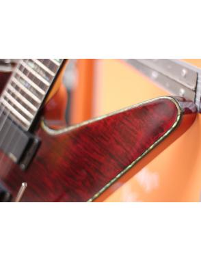 Charvel® Guitarra Eléctrica Desolation™ Star Floyd Rose  Trans Red
