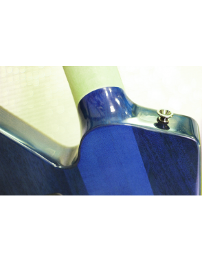 Charvel® Guitarra Eléctrica Desolation™ Star Floyd Rose Trans Blue Smear