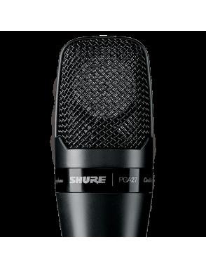 Shure® Micrófono Condensador Gran Diafragma PGA 27 LC