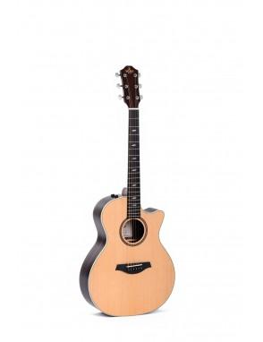 Sigma® Guitarra Folk E/A Grand OM GTCE-2+ Fishman®Flex