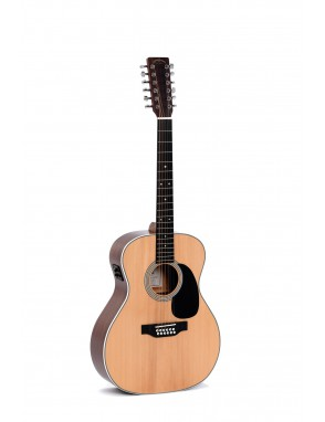 Sigma® Guitarra Folk Jumbo E/A 12 Cuerdas JM12-1STE+ Fishman