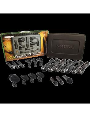Shure® Micrófonos Batería PGA DRUM KIT 7