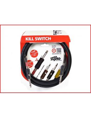 Santo Angelo® KILL SWITCH Cable Instrumentos Plug Recto OFHC