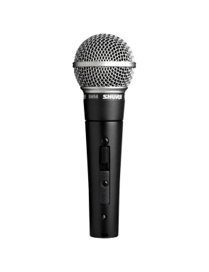 Shure® Micrófono Vocal SM58-S El legendario micrófono vocal con interruptor