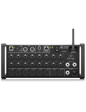 Behringer® Consola Mezclador Digital X AIR XR18 para Tablets iPad/Android