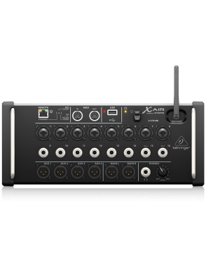 Behringer® Consola Mezclador Digital X AIR XR16 16 Canales Controlado Digitalmente Tablets