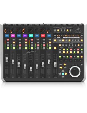 Behringer® Superficie de Control Universal XTouch Ethernet/USB/MIDI