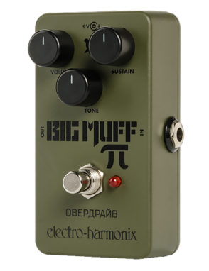 Electro-harmonix® Pedal Guitarra/Bajo Green Russian Big Muff Overdrive Sustainer