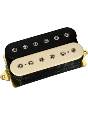 DiMarzio® Cápsulas Guitarra Eléctrica Humbucker DP156 Black Cream The Humbucker From Hell®