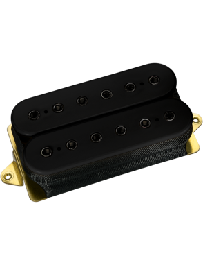 DiMarzio® Cápsulas Guitarra Eléctrica Humbucker DP200 Black STEVE MORSE MODEL® Bridge