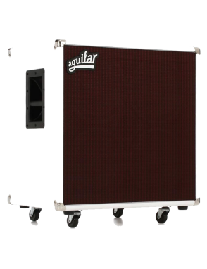 Aguilar® Gabinete DB 410 700W 4 Ohms White Hot