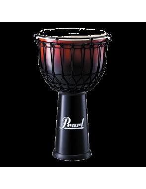"""Pearl® DJembe 14"""" PJF350RX EZ Tune Fiberglass Color: Cramberry Fade"""