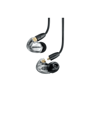Shure® Audífonos In Ear SE425 Sound Isolating™ Transparentes