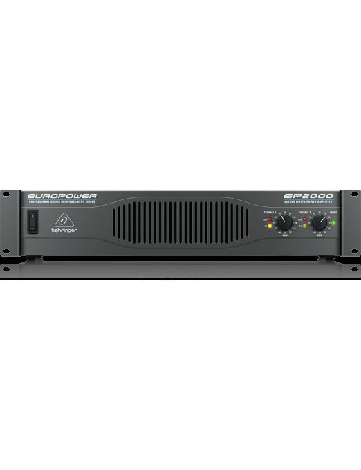 Behringer® Amplificador Power EUROPOWER EP2000  2.000W Estéreo