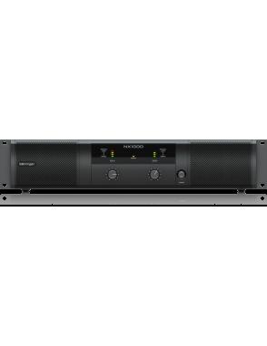 Behringer® Amplificador Power Class-D NX1000 Ultra-Ligero 1.000W