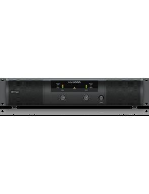 Behringer® Amplificador Power Class-D NX3000 Ultra-Ligero 3.000W