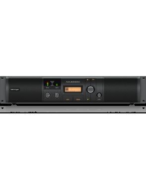 Behringer® Amplificador Power Class-D NX3000D Control DSP Ultra-Ligero 6.000W