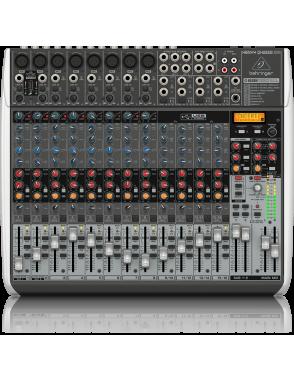 Behringer® Mixer QX222USB XENYX Multi-FX 22 Entradas 14 Canales