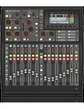 Behringer® Mixer Digital X32 PRODUCER 40 Entradas 17 Faders Interfaz 32 Canales
