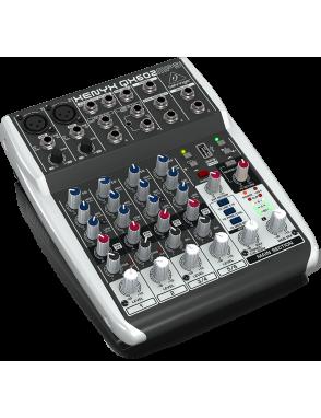 Behringer® Mixer QX602MP3 USB XENYX Multi-FX 6 Entradas