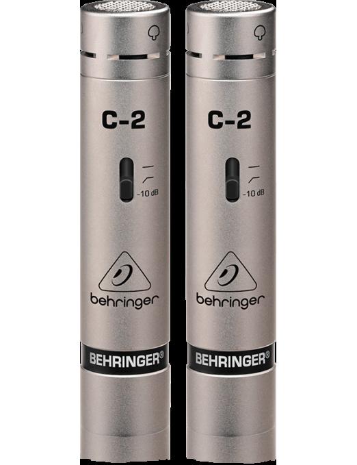 Behringer® Micrófono Estudio C-2 Condensador Par