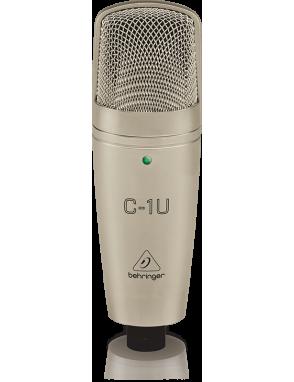 Behringer® Micrófono Estudio C-1U Condensador USB