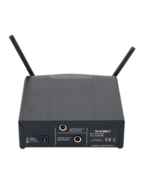 AKG® Sistema Micrófono Inalámbrico Doble WSM40 PRO MINI2 Set: Micrófono Vocal Mano y Bodypack