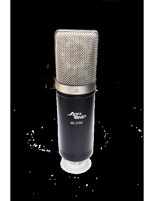 ApexTone® Micrófono Estudio MC-210-U Condensandor