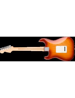 Fender® Guitarra Eléctrica American Professional Stratocaster® con Case Color: Siena Sunburst