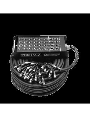 PROLOK Multipar PCSN248100 24 Envíos 8 Retornos Largo: 30 mts
