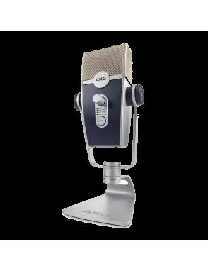 AKG® Micrófono Condensador USB LYRA Multi-Patrón 24 bits/192 kHz