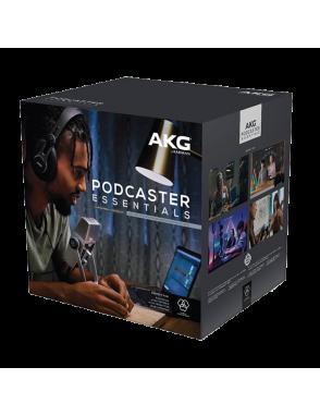 AKG® Micrófono Pack Podcaster Essentials Micrófono, Audífono y Software