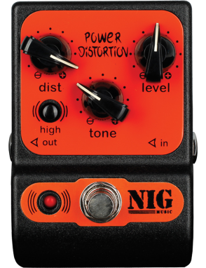 NIG® Pedal Efectos Guitarra Eléctrica PPD Power Distortion