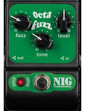 NIG® Pedal Efectos Guitarra Eléctrica POC Octava Fuzz