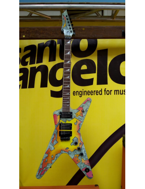 DEAN GUITARS® Guitarra Eléctrica DIMEBAG ML Concrete Sledge Limited Edition con Case