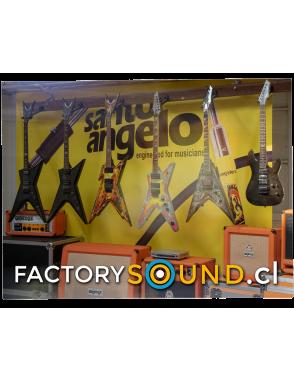 DEAN GUITARS® Guitarra Eléctrica DIMEBAG ML Concrete Sledge con Case Limited Edition